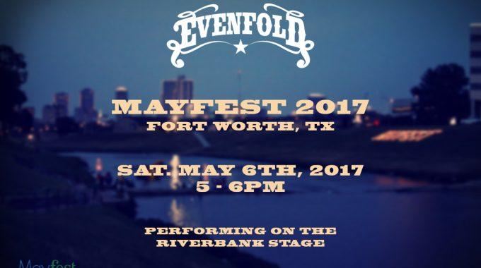 Evenfold - Mayfest 2017